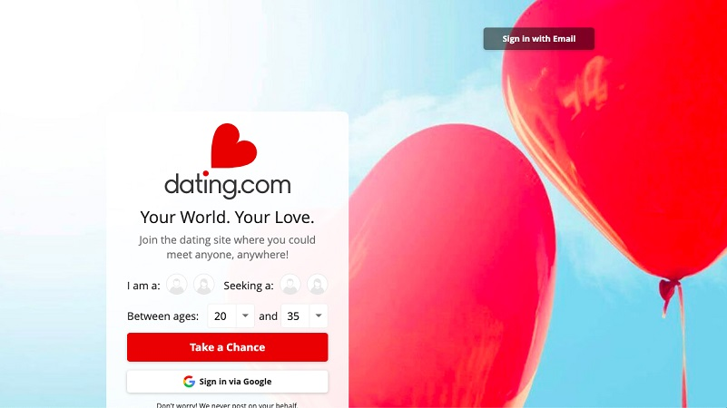 dating sites assistance